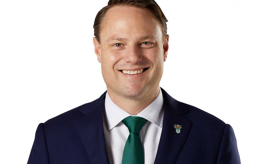 Message from Lord Mayor of Brisbane Councillor Adrian Schrinner